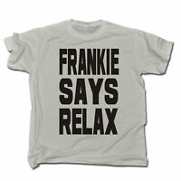 Frankie Says Relax MENS T Shirt birthday retro 80s costume fancy dress party
