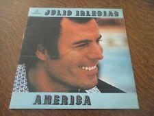 33 tours JULIO IGLESIAS america