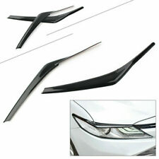 1Pair Front Headlight Eyebrow Decoration Trim Fit Toyota Camry SE XSE 2018-2020