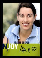 Isabel Eberle N Joy Autogrammkarte Original Signiert # BC 59106