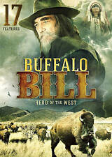 BUFFALO BILL Hero of the West (Dvd, 2016) NEW 17 features, FREE same day ship!