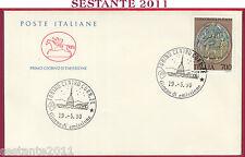 ITALIA FDC CAVALLINO I LONGOBARDI IN ITALIA 1990 ANNULLO TORINO T100