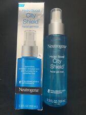 Neutrogena Hydro Boost City Shield facial gel mist 3.3 FL oz NEW