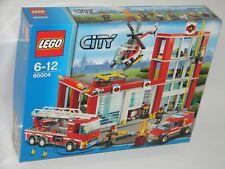 LEGO® City 60004 Feuerwehr-Hauptquartier NEU OVP_ Fire Station NEW MISB NRFB