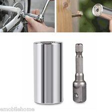 7-19mm UNIVERSEL Clé à douilles manche prise Perceuse Adaptateur Outils à main