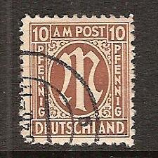 GERMANY # 3N7a Used ALLIED MILITARY GOVERNMENT