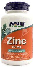 Now Foods, Zinc - 50mg x250tabs