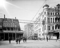 8x10 Historical Photo Carondelet Street, New Orleans, LA  1906