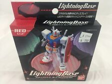 Bandai Hobby Lightning Base Plate Type Display Stand Figure (Red Version)