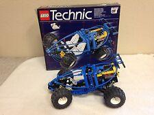 LEGO TECHNIC WITH BOX & MANUAL LEGO 8437 TECHNIC OFF ROAD BLUE FUTURE CAR