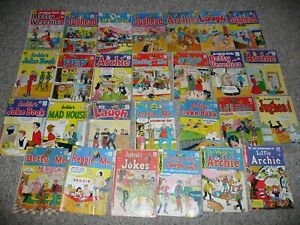 Archie Comics Lot of 27 Betty and Veronica Jughead Pep Vintage