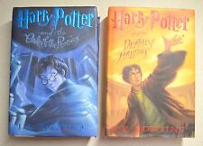Lot of 2 HARRY POTTER and the Order of the Phoenix / and the Deathly Hallows