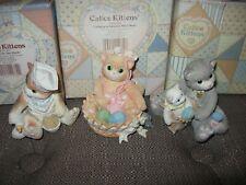 Lot Of 3 Calico Kittens * New Kit On Block * Se 00004000 Nding Bag Of Love* Sweeter Mom