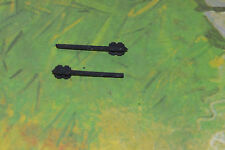 DaBro Ritter Morgenstern 2 black Maces fits Araber knights Timpo 1/32