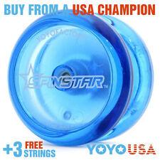 YoYoFactory Spinstar Beginner  Yo-Yo Blue + FREE STRINGS