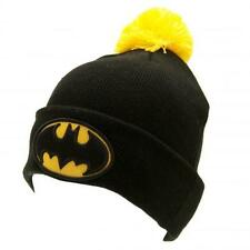 Official Licensed Product Batman Ski Hat Knitted Cap Beanie Black Gift Fan New