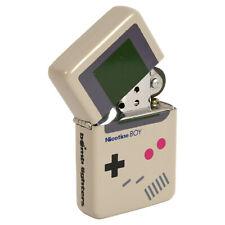 Nicotine Boy Windproof Lighter. Retro Console Controller Fliptop Refillable