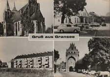 GRANSEE, Ansichtskarte 1968, Gruss aus Gransee Brandenburg
