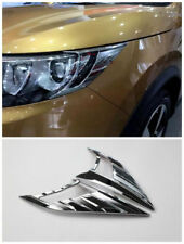 for Nissan Rogue Sport 2017- 2019 Chrome Front Head Light Eydlid Cover Trim 2pcs