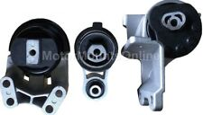 9M1151 3pc Motor Mounts fit NON-Turbo Engine 2010 - 2012 Ford Taurus Lincoln MKS