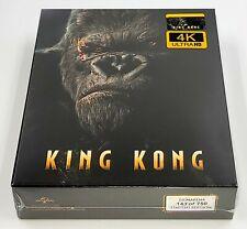 New ListingKing Kong [4K Uhd +2D] Blu-Ray Steelbook [Filmarena] Fullslip