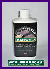 "RENOVO CANVAS SOFT TOP HOOD ""REVIVER"" BLACK 500ML FOR AUSTIN HEALEY"