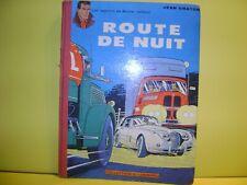 MICHEL VAILLANT ROUTE DE NUIT  EO 1962 + TIMBRE TINTIN