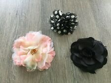 Ladies Hair Clips Or Broaches Set Of 3