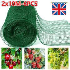 More details for 6x anti bird pond netting net plants veg fruit protect garden fine mesh 2 x 10m