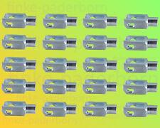 20 x Gabelkopf 4x8 M4 verzinkt - ohne Zubehör - Gabelgelenk Gabelköpfe