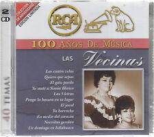 CD  - Las Vecinas NEW 100 Anos De Musica - FAST SHIPPING !