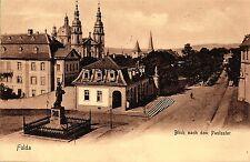 Fulda, Paulustor, Bahnpoststempel Berlin-Frankfurt, 1908