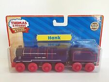 THOMAS THE TANK & FRIENDS-WOODEN HANK W/TENDER YELLOW LABEL 2011 **NEW IN BOX**