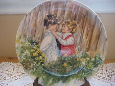 """1981 """"Be My Friend"""" Collectible Plate Wedgewood, My Memories By Mary Vickers"""