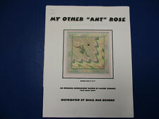 """Quail Run Designs Kathy Fenchel """"My Other 'Ant' Rose"""" Needlepoint Canvas & Guide"""