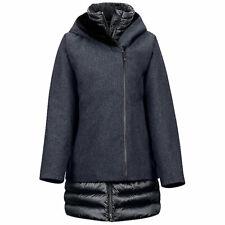 Marmot Women's Victoria 700 Fill Down Snow Jacket Black Heather/Black Medium NWT