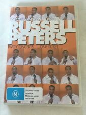 RUSSELL PETERS-COMEDY NOW-TWO CONCERTS, ONE TICKET (DVD) R-ALL, LIKE NEW