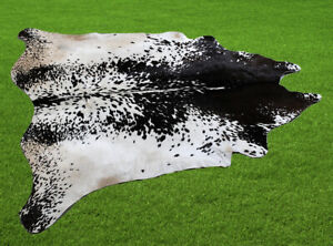 """100% New Cowhide Rugs Area Cow Skin Leather (52"""" x 54"""") Cow hide SA-7073"""