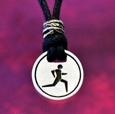 Runner Pendant Necklace | Track and Field Jewelry Handcrafted Fine Pewter
