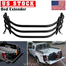 Truck Bed Extender Pick-up Car Rear Back Extension Holder Up To 26 inches Black
