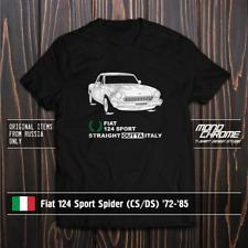 T-shirt Fiat 124 Sport Spider (CS/DS) '72-'85