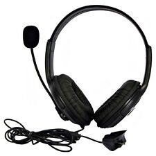 New Big Headset Headphone with MIC for Microsoft Xbox 360 Live Controller #1249