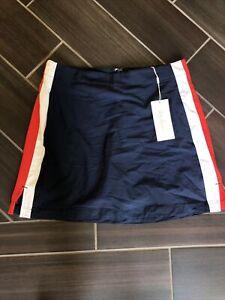 Women's Lady Hagen Side Stripe Woven Skirt- size 8- NWT