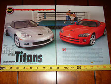 2006 CORVETTE Z06 vs. 2006 DODGE VIPER SRT10 COUPE - ORIGINAL ARTICLE