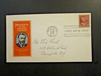US SC# 823 FDC / Ioor Cachet /Mailed to Ford Frick at his Bronxville Home -Z5617