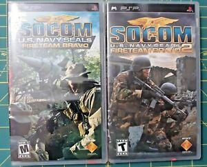 Socom U.S. Navy Seals Bravo 1 & 2/ Sony PSP