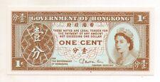 Hong Kong One Cent UNC