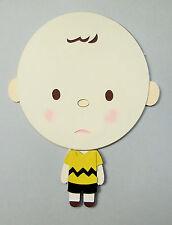 Charlie Brown Paper Die Cut Scrapbook Embellishment