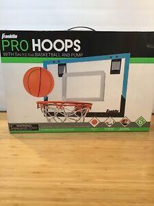 Franklin Pro Hoops Indoor Basketball Set. New In Box