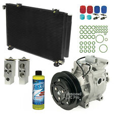 New AC A/C Compressor / Condenser Kit Fits: 2000 2001 2002 Toyota Echo L4 1.5L